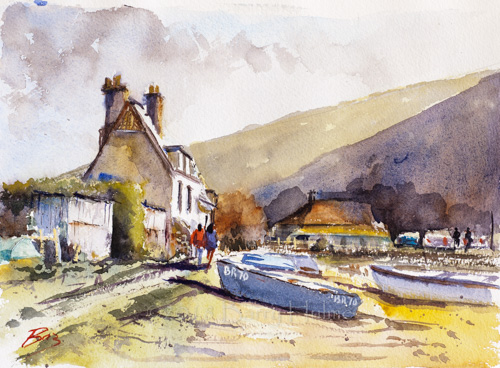 Cottage at Porlock Weir