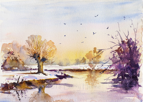 Winter on the Stour