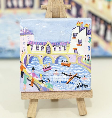 Mini Pultney Bridge (inc easel)