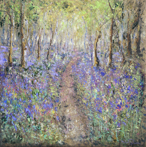 Secret Path through the Bluebell Woods