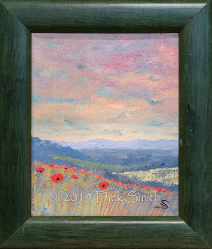 A little magic: Poppy Landscape