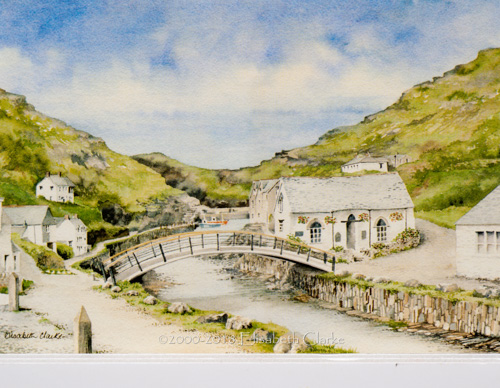 Boscastle - Towards the Sea