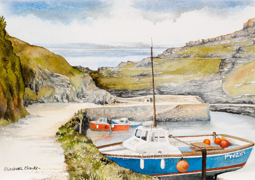 Boscastle, The Harbour