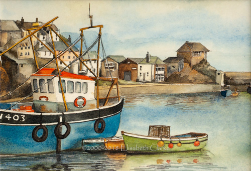 Mevagissey, The Harbour
