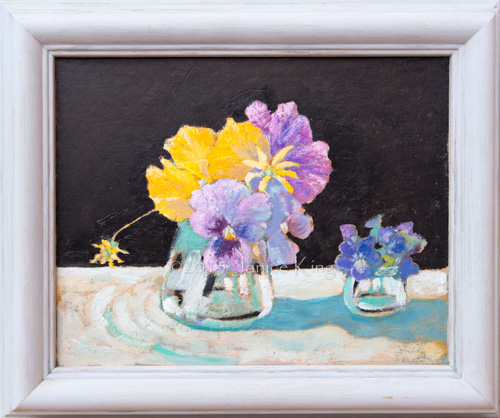 Pansies & Violets (Reserved)