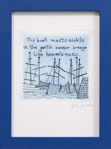 Boat Masts Haiku