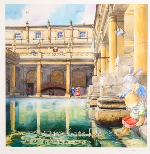 Bath Buns • At the Roman Baths xx/250