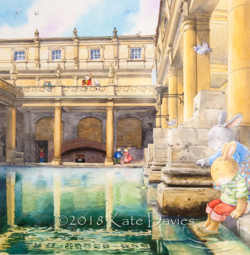 Bath Buns • Bath Buns at the Roman Baths xx/250