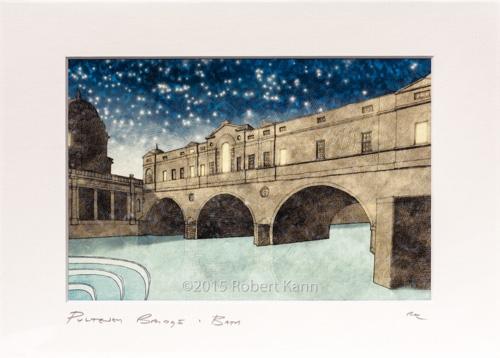 Pulteney Bridge • By Night Bath