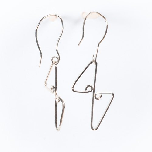 Egyptian Link Earrings
