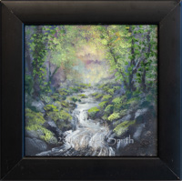 A little magic: Mountain Stream in Black