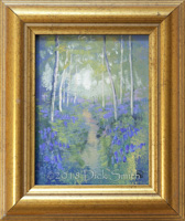 A little magic: Bluebells in Gold