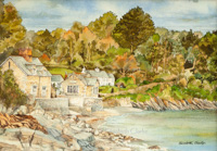 Durgan, on the Helford River