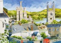 Over the Town, Fowey