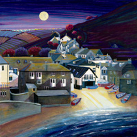 Port Isaac Moonlight