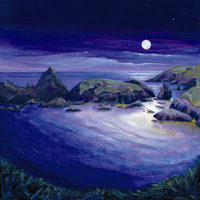 Kynance Cove, Moonlight