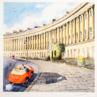 Bath Buns • Drive Round the Royal Crescent xx/250