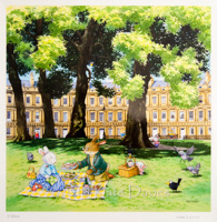 Bunny visits Bath • Picnic in The Circus xx/250