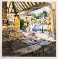 Meeting at the Market Cross • Castle Combe xx/250