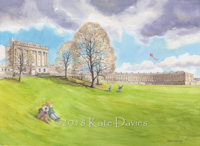 Bath Buns •  Kite Flying At The Crescent xx/250