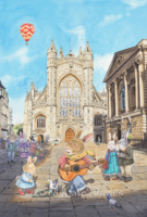 Bath Abbey Busking xx/250