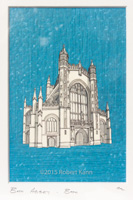 Bath Abbey • Blue