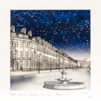 Great Pulteney Street by night 19/100