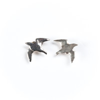 Seagull (Wings Outstretched) Stud Earrings