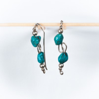 Turquoise Liana Earrings - DO NOT IMMERSE IN WATER