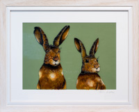 Double Hares - the Mega ones!! 60cm