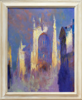 Bath Abbey in Purple and Gold No 27