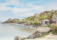 Coverack, The Watch House and Headland