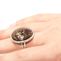 Lizard Serpentine Adjustable Ring