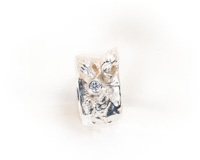 Flora & Fauna: 3mm Swarovski Crystal Ring